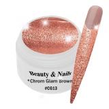 Chrom Glam Gel *Brown* - #13