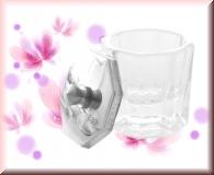 Dappen Dish - klares Glas