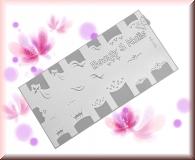Airbrush Schablonen aus Mylar - SD134