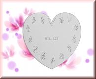 Airbrush Schablonen aus Mylar - STL327