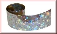 Nailart Folie Silver Starburst #21 - 1,5m