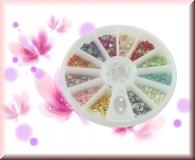 Rondell - kleine Sternchen *versch.Farben*