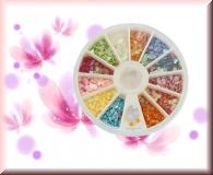 Rondell - Herzchen *versch. Farben*