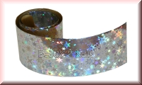 Nailart Folie Silver Starburst -20cm - #21