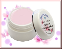 Perfection Builder Gel - Transparent Rose 15ml - Nail TEC