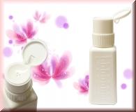Dispenser Remover Flasche - 240ml - mit Twistlock - Weiß