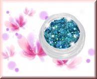 Glitterdots - Lucious Blue #145 - 28gr.