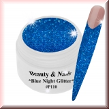 UV Glittergel *Blue Night Glitter* - 5ml - #P110