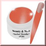UV Farbgel *Sorbet Metallic* - 5ml - #P201
