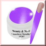 UV Farbgel *Amethyst Metallic* - 5ml - #P207