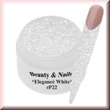 UV Glittergel *Elegancè White (Glitter)* - 5ml - #P22