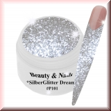 UV Glittergel *Silver Glitter Dream* - 5ml - #P101