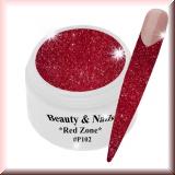 UV Glittergel *Red Zone* - 5ml - #P102