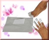 Magic Wrap Foils - 20 Stück - Ablösen Acrylmodellage