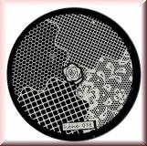 Stamping Schablone *Netz -#hehe018