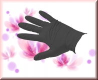 Nitril Handschuhe Black Pearl - Gr.XS -100 Stück