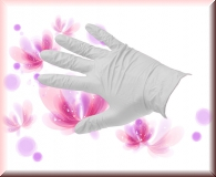 Nitril Handschuhe White Pearl -Gr.L -100 Stück
