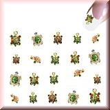 Sticker - Bunte Schildkröten -#B2310