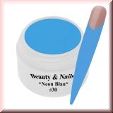 UV Farbgel *Neon Blau* - 5ml - #30