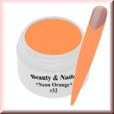 UV Farbgel *Neon Orange* - 5ml - #32