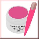 UV Farbgel *Neon Pink* - 5ml - #33