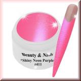 UV Farbgel *Shiny Neon Purple* #414 - 5ml