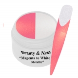 Thermo Gel- Magenta to White Metallic - 5ml #T21