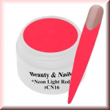 UV Farbgel *Neon Light Red* - 5ml - #CN16
