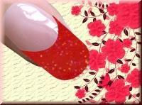 Farb-Acryl 4g - Fuchsia Glitter #45