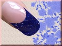 Farb-Acryl 4g - Dark Blue Glitter #41