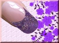 Farb-Acryl 5g - Indigo Glitter #72