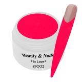 UV Farbgel *Glitter Valentine Red* - 5ml - #636