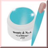 UV Farbgel *Caribbean*- 5ml -#737
