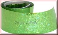 Nailart Folie Lime Glitter  #83 - 1,5m