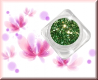 GlamourGlitter - Grün/Silver #ST37