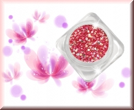 GlamourGlitter - Pink/Silver #ST10