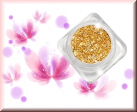 GlamourGlitter - Gold Hologramm/Silver #ST3