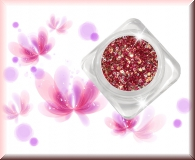 GlamourGlitter - Berry/Silver #ST28