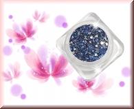 GlamourGlitter - Blau/Silver #ST35