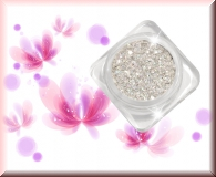 GlamourGlitter - Silber/ Hologramm Silver #ST1