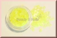 Ringe und Dots - Neongelb - ST23