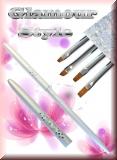 Glamour Style2 - Gel-Pinsel Gr.4 schräg