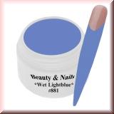 UV Farbgel *Wet Light Blue*- 5ml -#881