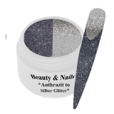 Thermo Gel- Antrazith to Silver Glitter -5ml #T16