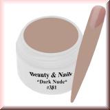 UV Farbgel *Dark Nude*- 5ml -#FG381