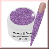 UV Farbgel *Purple Passion Glitz*- 5ml -#FG130