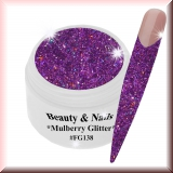 UV Farbgel *Mulberry Glitter*- 5ml -#FG138