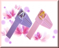 Pinch Klemme - rosa