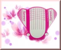500 Stück Butterfly Schablonen XL & Extra Breit - Nagelverlängerung