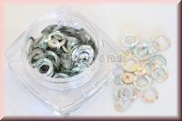 Ringe & Pailetten - Holographic Silber #RP3